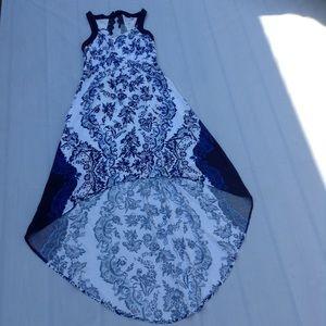 Elle Sleveless High Low Dress Size XS